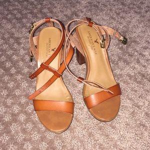 Summer block heels